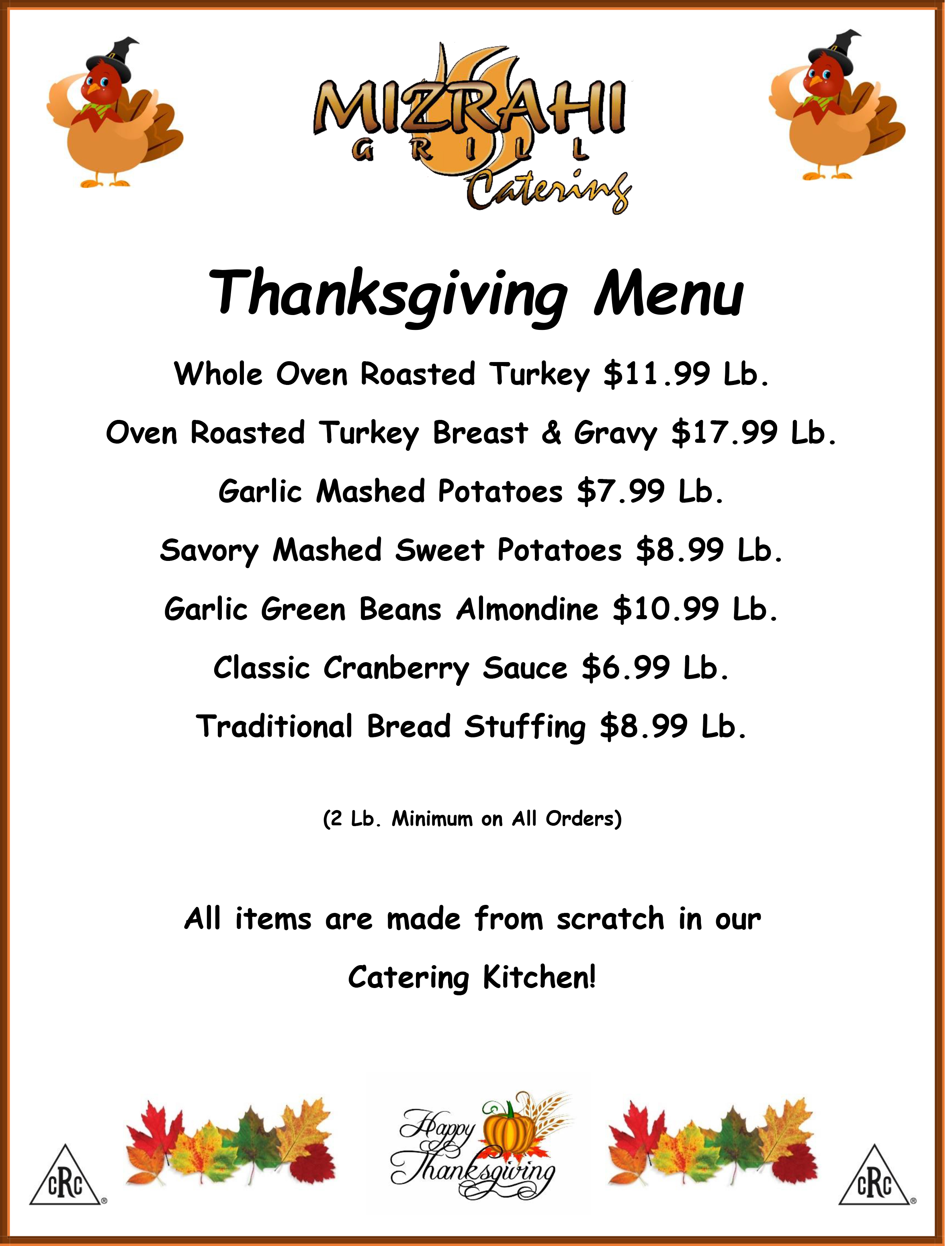Thanksgiving-Menu-2018